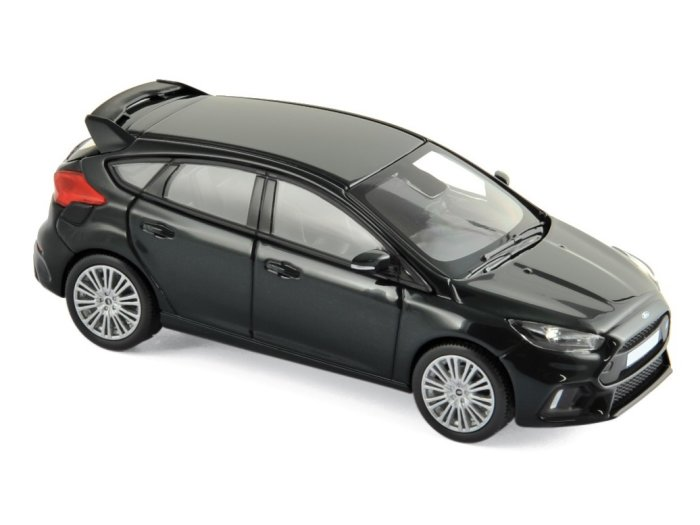 2016 FORD FOCUS RS in Black 1/43 scale model by Norev