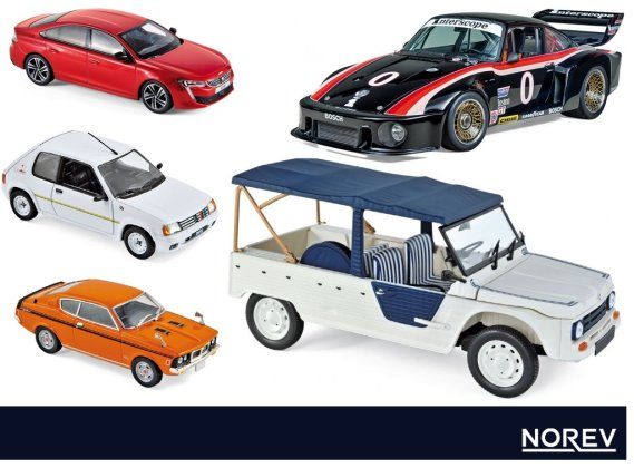 Norev diecast model cars new releases 2019