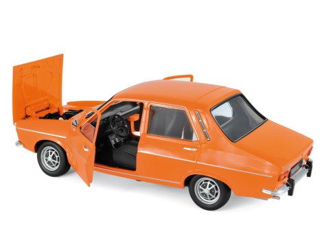 1973 RENAULT 12 TS in Orange 1/18 scale model by NOREV