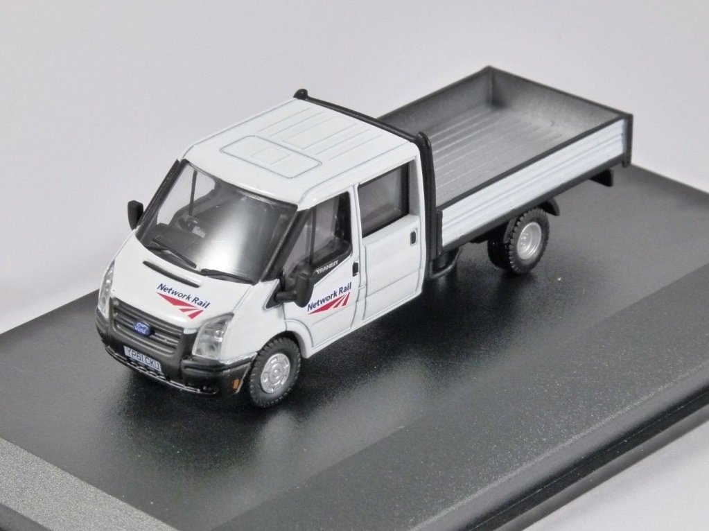 FORD TRANSIT DROPSIDE Network Rail 1/76 scale model OXFORD DIECAST
