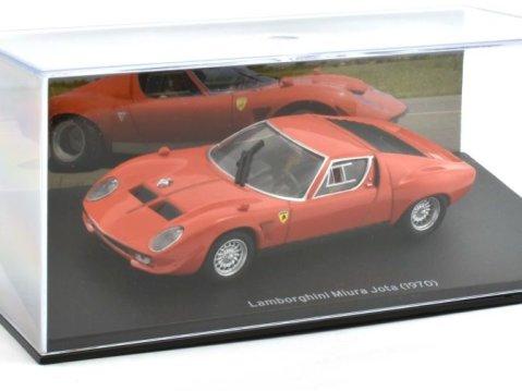 1970 LAMBORGHINI MIURA JOTA in Red 1/43 scale model