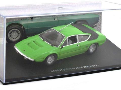 1972 LAMBORGHINI URRACCO P250 in Green 1/43 scale model