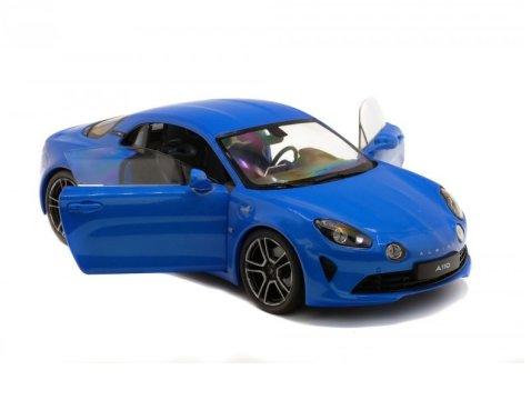 2018 ALPINE A110 PREMIERE EDITION in Blue 1/18 scale model by Solido