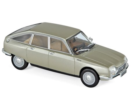 1973 CITROEN GS 1220 CLUB in Beige 1/43 scale model by Norev