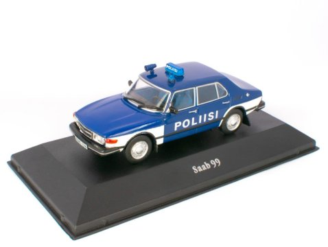 1974 SAAB 99 - Finland Police - 1/43 scale partwork model