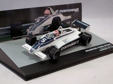 BRABHAM BT49C Nelson Piquet Germany F1 GP 19811/43 scale partwork model
