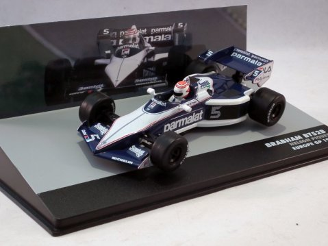 BRABHAM BT52B Nelson Piquet European GP 1983 1/43 scale partwork model