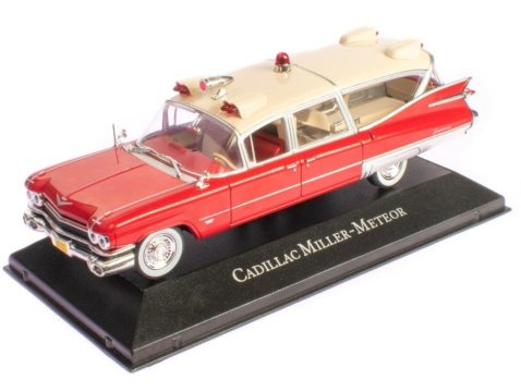 CADILLAC SUPERIOR Miller Meteor Ambulance - 1/43 scale partwork model