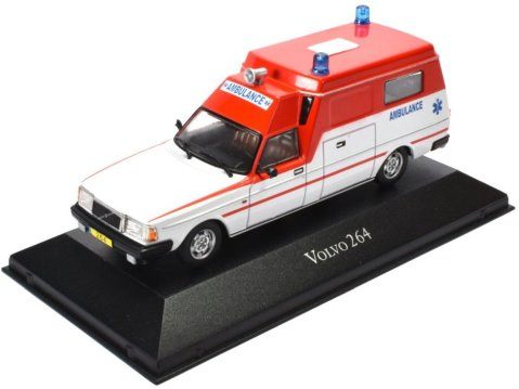 VOLVO 264 Ambulance - 1/43 scale partwork model