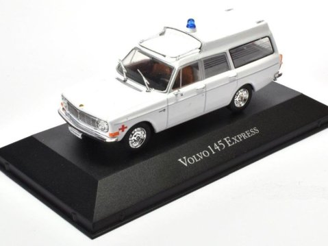 1969 VOLVO 145 EXPRESS Ambulance - 1/43 scale partwork model