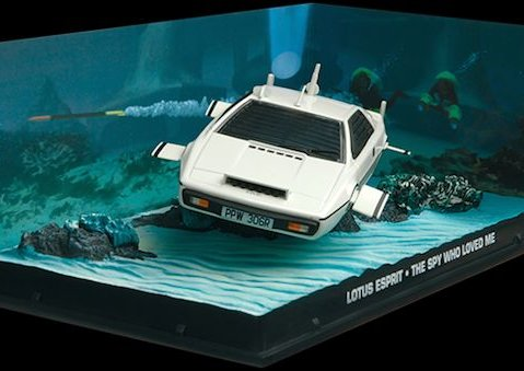 LOTUS ESPRIT Underwater - TSWLW - 1/43 scale model James Bond Collection