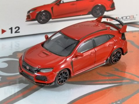 Model - Honda Civic Type R FK8 in Rallye Red Manufacturer - Truescale Miniatures Scale - 1:64 (approx 7cm) Packaging - Brand new and boxed Details - Brand new, superbly detailed by Truescale