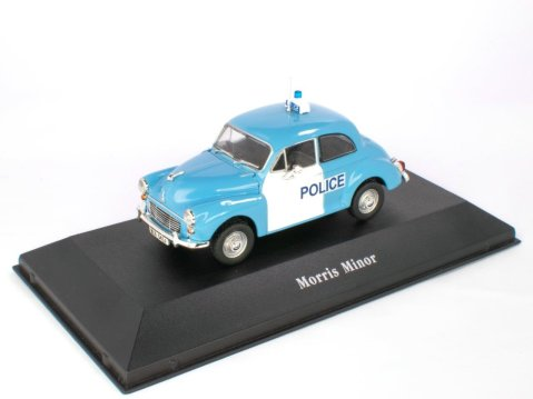 1957 MORRIS MINOR UK Police 1/43 scale partwork model