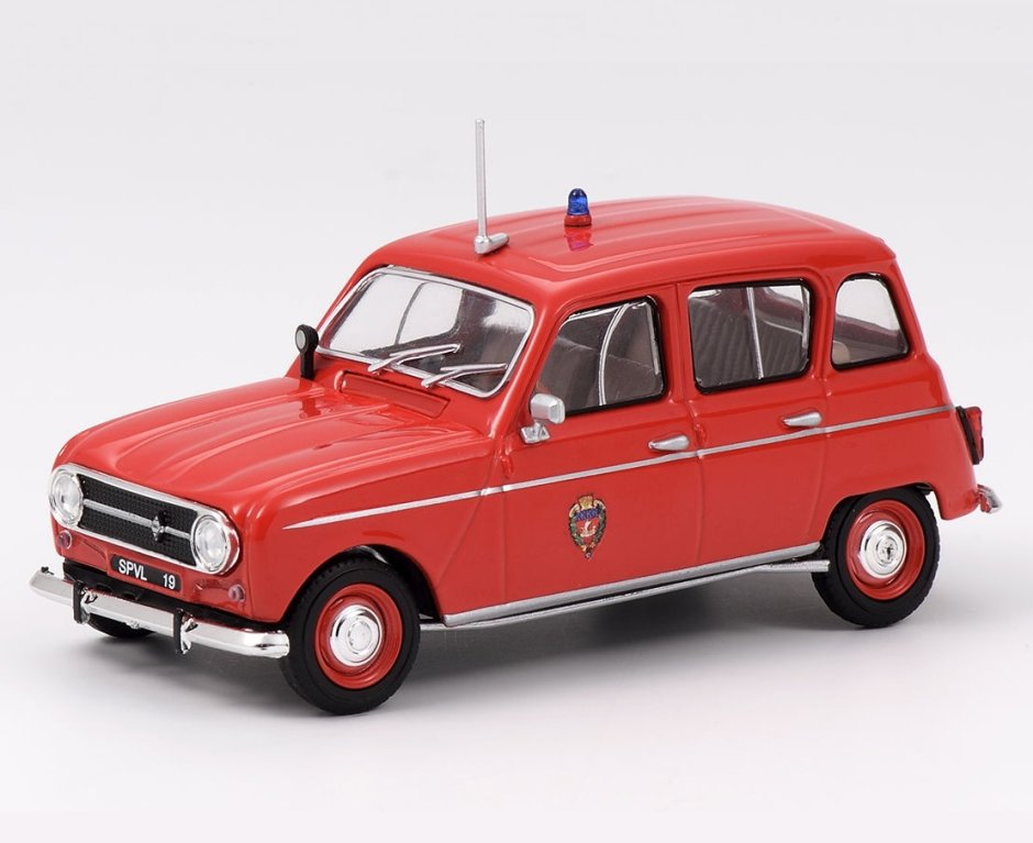 1970 RENAULT 4L BSPP 1/43 scale model by Eligor
