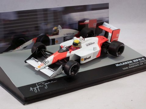 McLAREN HONDA MP4/4 F1 Ayrton Senna San Marino 1988 1/43 scale partwork model