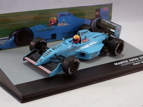 MARCH JUDD 881 Mauricio Gugelmin Italy GP 1988 1/43 scale partwork model