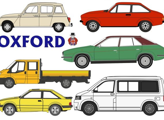 Oxford Diecast - 2019 New Announcements. Part 2.