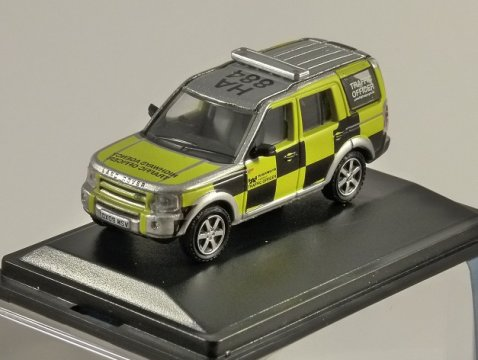 LAND ROVER DISCOVERY HIghways Agency 1/76 scale model OXFORD DIECAST