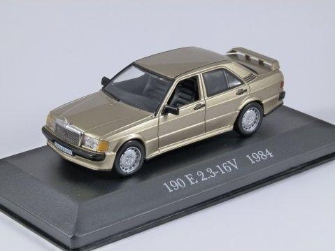 1984 MERCEDES BENZ 190E 2.3 16V - 1/43 scale partwork model