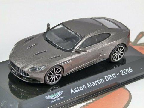 2016 ASTON MARTIN DB11 in Grey 1/43 scale partwork model