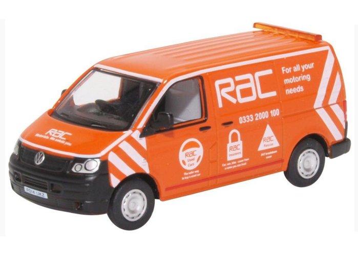 VOLKSWAGEN T5 Van - RAC - 1/76 scale model by Oxford Diecast