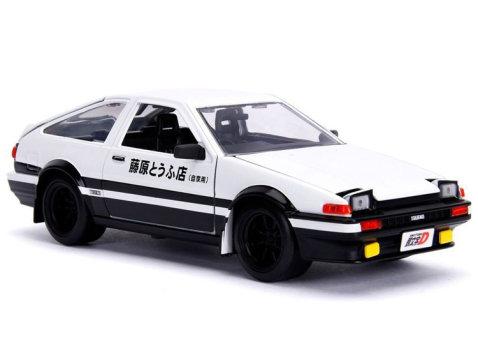 TOYOTA TRUENO AE86 w/ Takumi - Initial D 1/24 scale model by Jada
