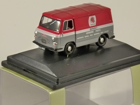 AUSTIN J4 VAN - BMC PARTS - 1/76 scale model OXFORD DIECAST