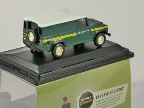 LAND ROVER DEFENDER Forestry Commission - 1/76 scale model OXFORD DIECAST