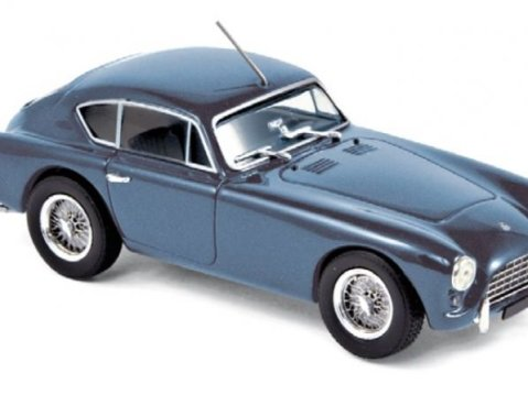 1957 AC ACECA in Blue Metallic 1/43 scale model by Norev