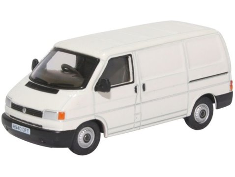 VOLKSWAGEN T4 Van in Grey White - 1/76 scale model OXFORD DIECAST
