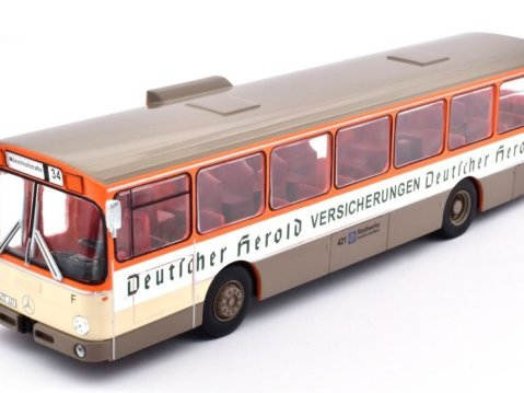 1979 MERCEDES BENZ O305 Germany 1/43 scale classic bus model