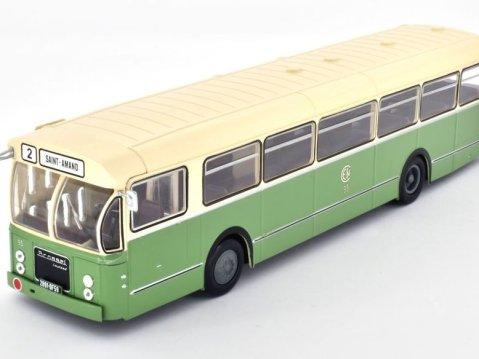 1956 BROSSEL BI55 Valenciennes France 1/43 scale classic bus model