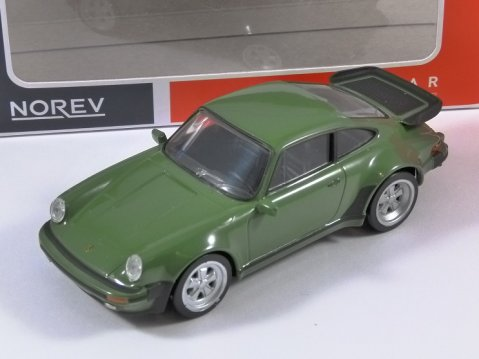 1978 PORSCHE 911 TURBO 3.3l in Green 1/43 scale model by Norev