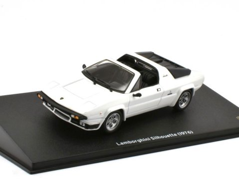 1976 LAMBORGHINI SILHOUETTE in White 1/43 scale model