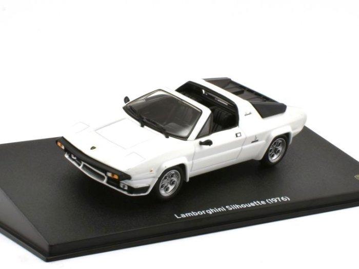 1976 LAMBORGHINI SILHOUETTE in White 1/43 scale model