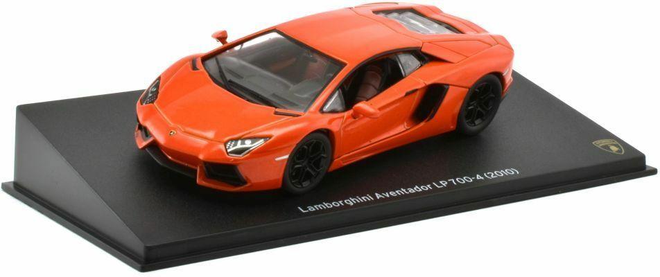 2010 Lamborghini Aventador Lp700 4 In Orange 1 43 Scale