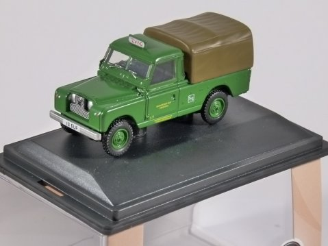 LAND ROVER S2 Canvas - Southdown - 1/76 scale model OXFORD DIECAST