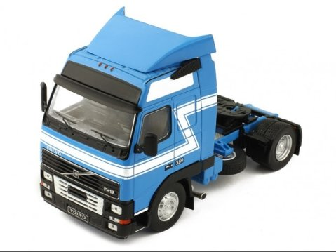 1994 VOLVO FH12 Truck in Blue 1/43 scale model by IXO