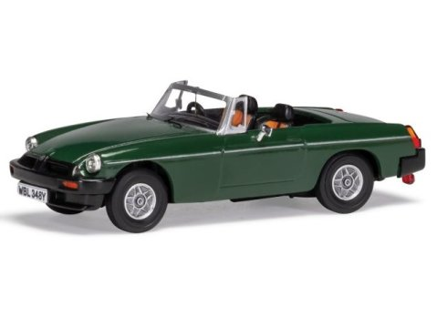MGB V8 'Don Hayter' in Brooklands Green 1/43 scale model CORGI Vanguards