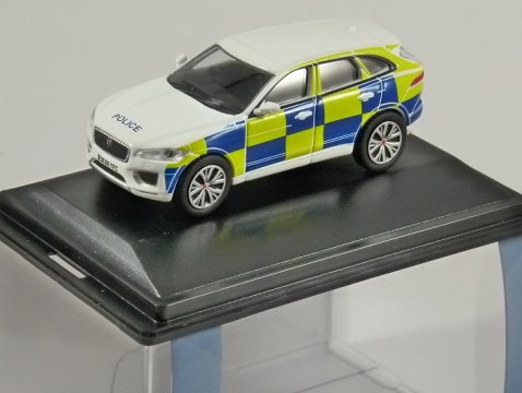 JAGUAR F-PACE Police 1/76 scale model OXFORD DIECAST