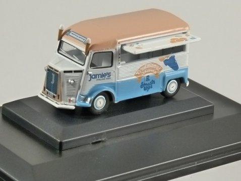 CITROEN H Catering Van - Jamie's Italian Ices - 1/76 scale model OXFORD DIECAST