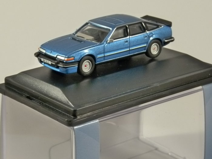 ROVER SD1 3500 VITESSE in Moonraker Blue 1/76 scale model OXFORD DIECAST