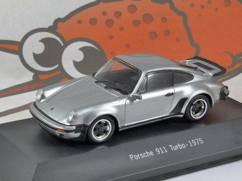 1975 PORSCHE 911 TURBO - 1/43 scale partwork model - Porsche 911 Collection