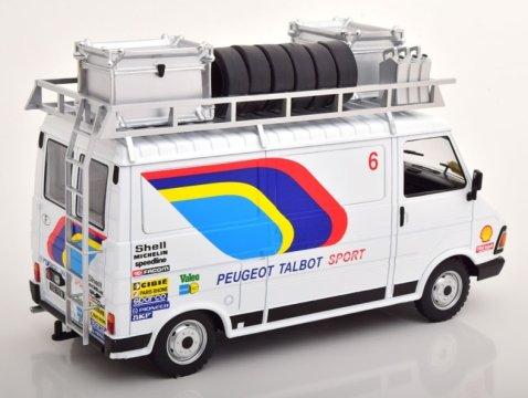 1985 CITROEN C35 Peugeot Talbot Sport Rally Assistance 1/18 scale model by IXO