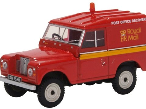 LAND ROVER S2A SWB Hard Top - Royal Mail 1/43 scale model Oxford Diecast