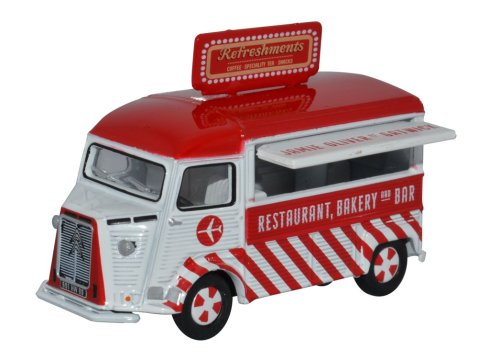 CITROEN H Catering Van - Jamie Oliver Gatwick - 1/76 scale model OXFORD DIECAST