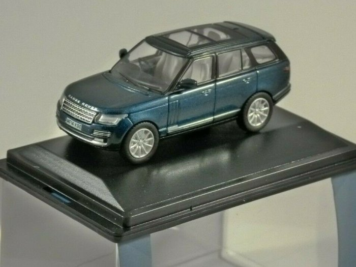 RANGE ROVER VOGUE in Aintree Green 1/76 scale model OXFORD DIECAST