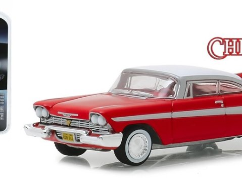 1958 PLYMOUTH FURY - Christine 1/64 scale model GREENLIGHT