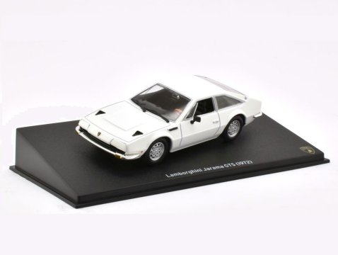 1972 LAMBORGHINI JARAMA GTS in White 1/43 scale model