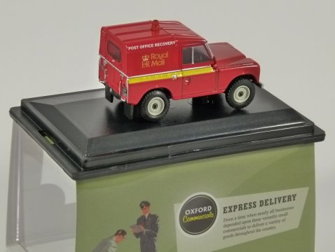 LAND ROVER Series IIA Royal Mail Recovery - 1/76 scale model OXFORD DIECAST